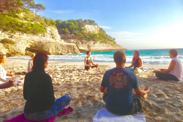 Beach Menorca Meditation